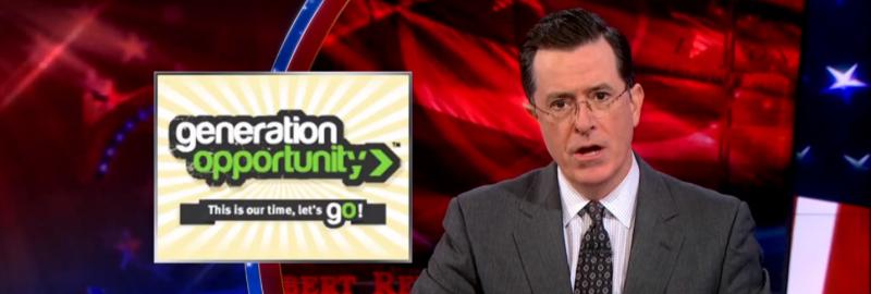 Colbert Report, Daily Show Explain Conservative Health Care Commercials | Generation Progress