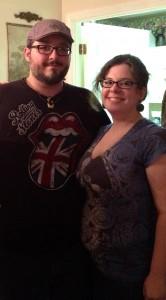 David Moyer and his wife Nicole Tommarazzo-Moyer.